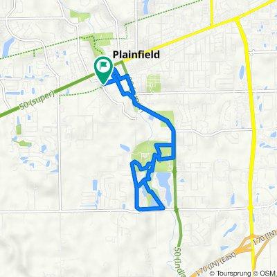 Route to S Vestal Rd, Plainfield