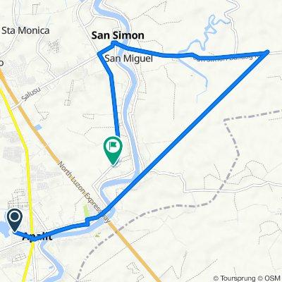 balucuc• san simon route