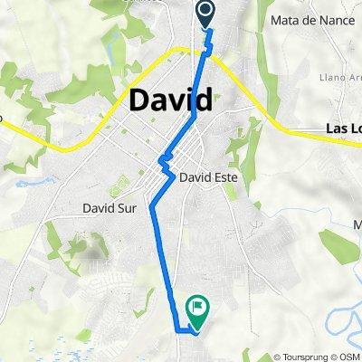 De Avenida Manuel Quintero Villarreal 64-1, David a D 1252-6, David