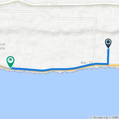 Unnamed Road, Santo Domingo Este to Marginal Avenida Las Américas, Santo Domingo Este