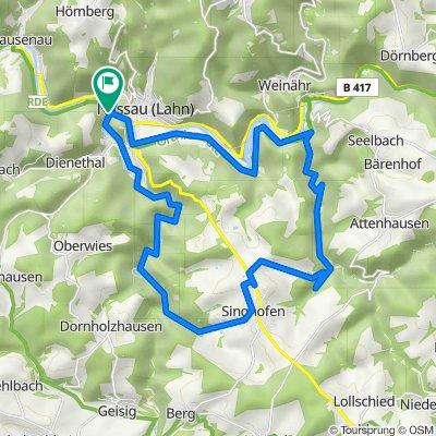 NASSAU - Mühlbachtal - Jammertal - Runde mit neuem Cube MTB