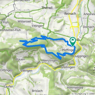 Home tour variante 2 big climb