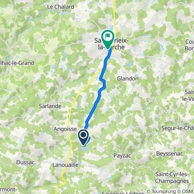 De Base de Loisirs de Rouffiac, Angoisse à Rue du Garreau de la Méchenie, Saint-Yrieix-la-Perche