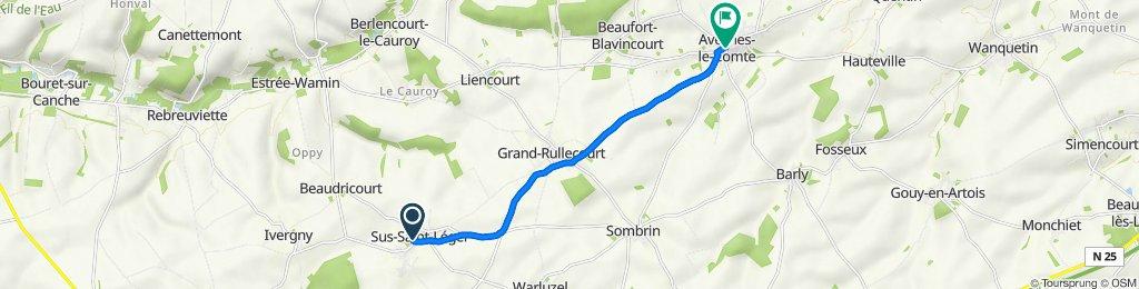 De 229 Grande Rue, Sus-Saint-Léger à 48 Grande Rue, Avesnes-le-Comte