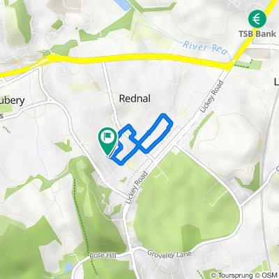 55 Roseleigh Road, Birmingham to 66 Ormscliffe Road, Birmingham