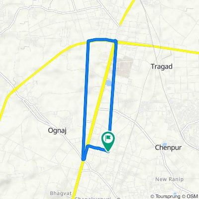 Gota, Ahmedabad to Ahmedabad