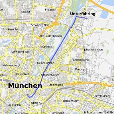 München Baader - Unterföhring Medienallee