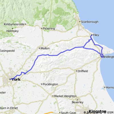 York to Filey, Bridlington and Return