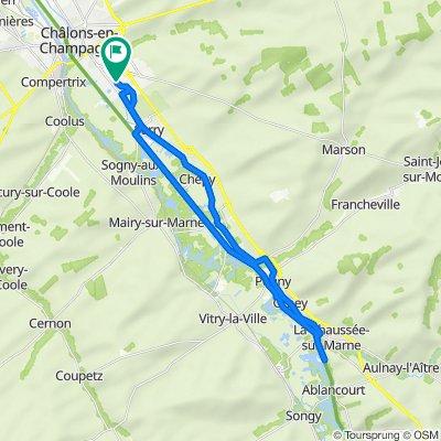 De 4 Chemin de la Trussonnerie, Châlons-en-Champagne à 4 Chemin de la Trussonnerie, Châlons-en-Champagne