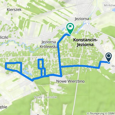 Wilanowska 114, Konstancin-Jeziorna do Mostowa, Konstancin-Jeziorna