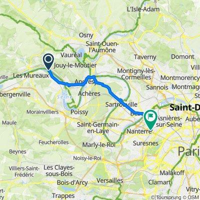 Itinéraire vers 4 Place Carpeaux, Puteaux