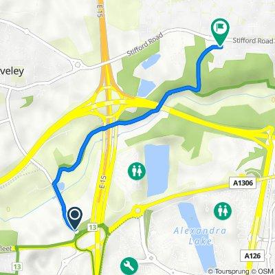 Back Lane 4 to Cherwell Grove 4