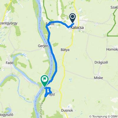 Duna-menti II. 3.nap 2.szakasz