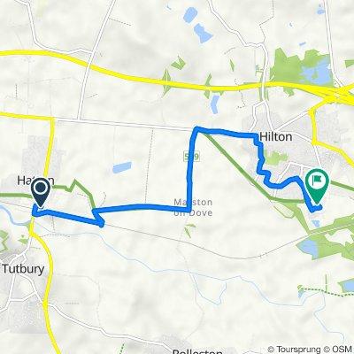 Marston Lane 5, Hatton to Derwent Close 2, Hilton