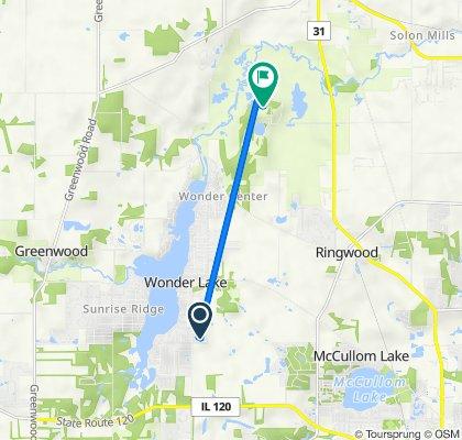 Wooded Shore Drive 7405, Wonder Lake to Harts Road 6416, Ringwood