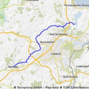 Bf Reinfeld/Holst. zur Badestelle Offendorf