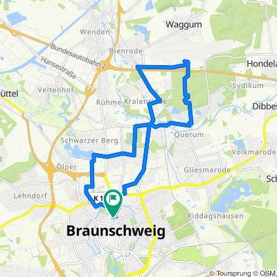 Kleine Sonntagsrunde mit Flughafen Braunschweig