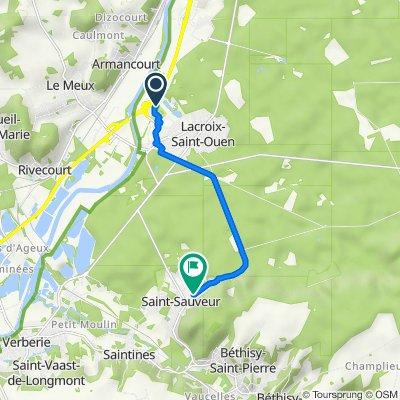 Itinéraire vers 340 Rue Pasteur, Saint-Sauveur