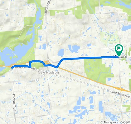 DTBC to Kent Lake Rd and return