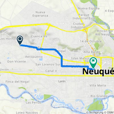 De N2746, Neuquén a Carlos H.Rodríguez 637, Neuquén