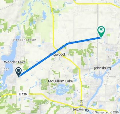 Wooded Shore Drive 7405, Wonder Lake to Hiller Ridge 2402, Johnsburg