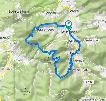 Vier-Wälder-Tour - Mit dem Mountainbike zur Nachtigall