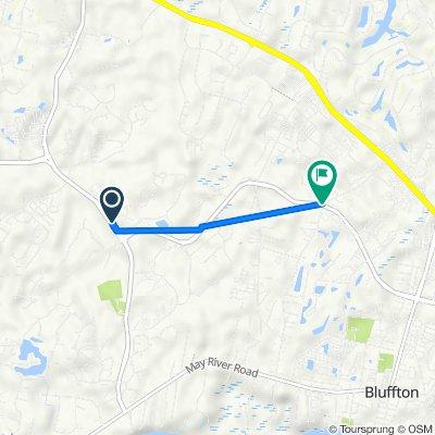 10 Halsey Cir, Bluffton to Bluffton Pkwy, Bluffton