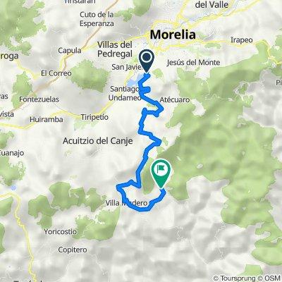 Morelia-Presas-Villa Madero-Etúcuaro