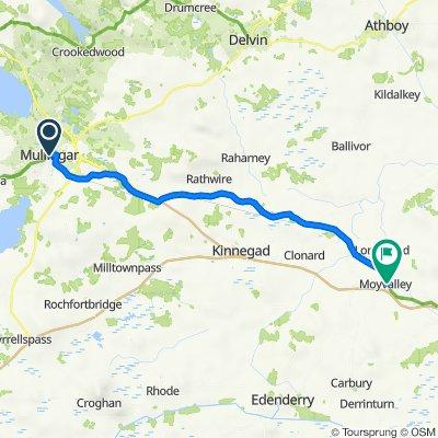21 Pearse St, Mullingar to Royal Canal Way, Broadford