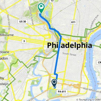 3408 Prima Ct, Philadelphia to N Schuylkill River Trail, Philadelphia