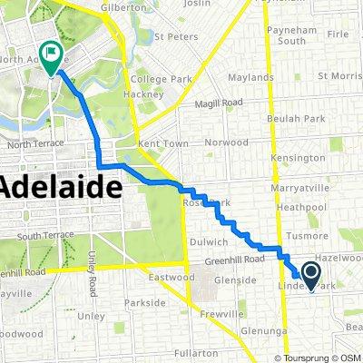 38 Austral Avenue, Linden Park to 72 King William Road, North Adelaide