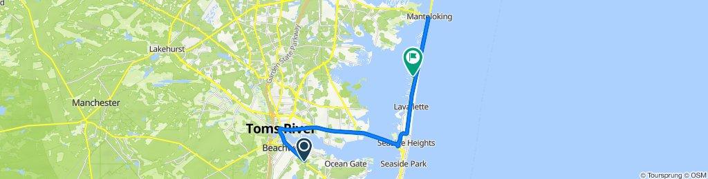 141 Atlantic City Blvd, Pine Beach to 124 W Kingfisher Way, Lavallette