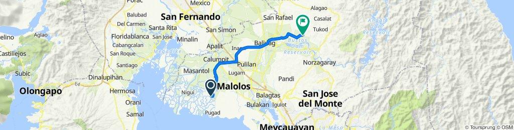 Sagrada Familia 193, Bayan ng Hagonoy to F. Viola Hiway, San Rafael