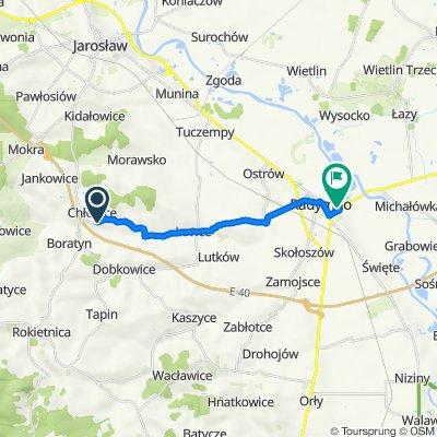 Trasa z Chłopice 260, Chłopice