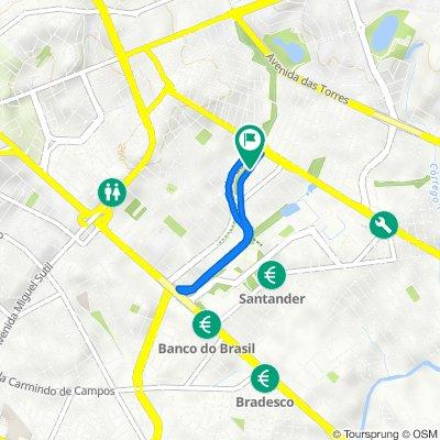 De Rua Montreal, 300, Cuiabá a Rua Montreal, 300, Cuiabá