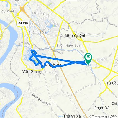 District Road 20, Van Giang to District Road 20, Van Giang