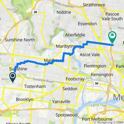 1–6 Bickley Court, Sunshine West to Owen Street, Brunswick West