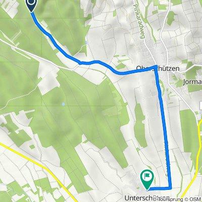 Route nach Unterschützen 5, Unterschützen