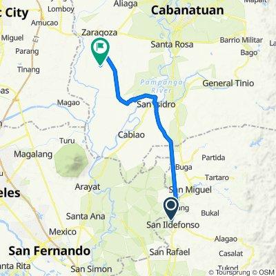 Cagayan Valley Road, San Ildefonso to Unnamed Road, San Antonio