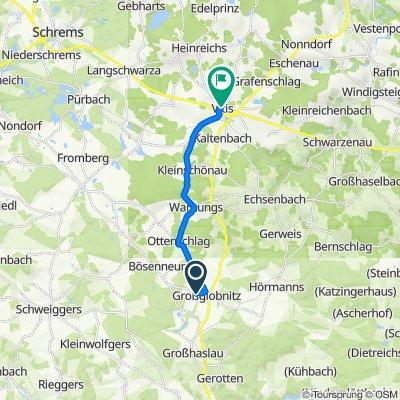 Großglobnitz 124, Großglobnitz to Bachgasse 2a, Vitis