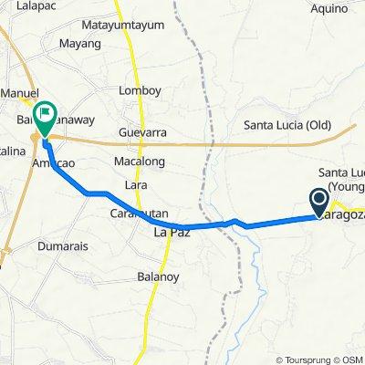 Libertad Street, Zaragosa to Subic-Clark-Tarlac Expressway, Tarlac City