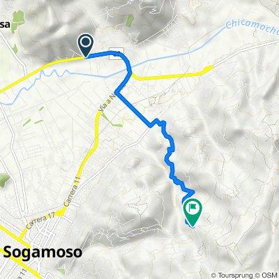 De Duitama-Sogamoso a Sogamoso-Mongui, Morca