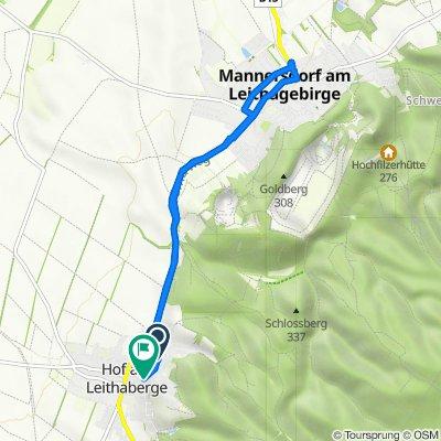 Mannersdorf und zurück 🚵♂️🚵♂️