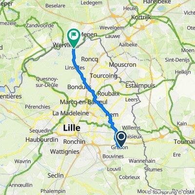 De 14–19 Rue des Lilas, Gruson à 4bis Rue de Wervicq, Bousbecque
