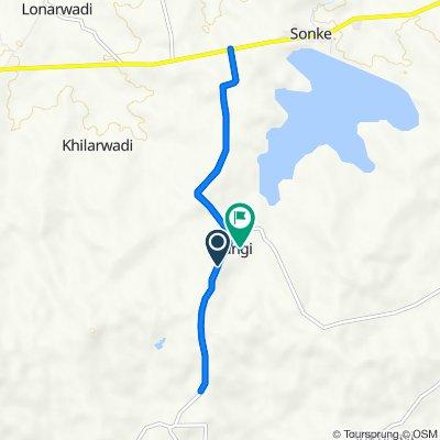 Unnamed Road, Tisangi to Unnamed Road, Tisangi