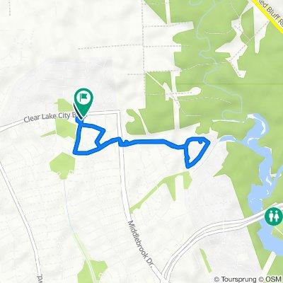 17106–17112 Chapel Park Way, Houston to 17114 Chapel Park Way, Houston