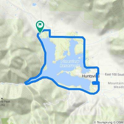 2022–2134 N Highway 158, Eden to 2136–2198 N Highway 158, Eden