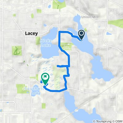 7534 Holmes Island Rd SE, Lacey to Mullen Rd SE, Lacey