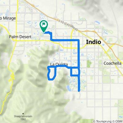 76540 New York Ave, Palm Desert to 76540 New York Ave, Palm Desert