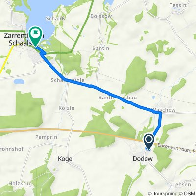 Gartenstraße 12, Wittendörp nach Wittenburger Chaussee 98, Zarrentin am Schaalsee